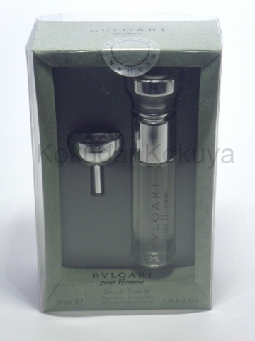 BVLGARI Pour Homme (Vintage) Parfüm Erkek 10ml Eau De Toilette (EDT) Sprey