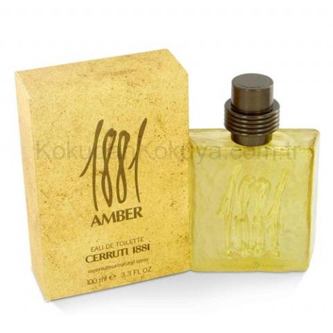 NINO CERRUTI 1881 Amber (Vintage) Parfüm Erkek 100ml Eau De Toilette (EDT) Sprey