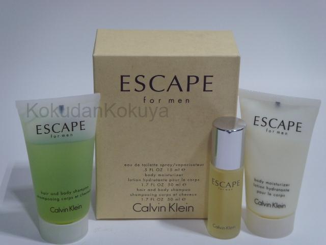 CALVIN KLEIN Escape for Men (Vintage) Parfüm Erkek 15ml Eau De Toilette (EDT) Sprey