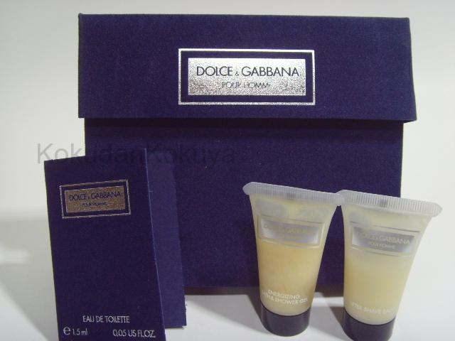 DOLCE GABBANA Pour Homme (Vintage) Parfüm Erkek 1.5ml Eau De Toilette (EDT) Dökme