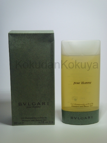 BVLGARI Pour Homme (Vintage) Banyo Ürünleri Erkek 200ml Duş Jeli