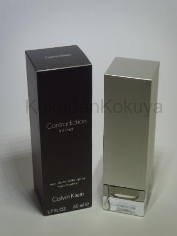 CALVIN KLEIN Contradiction for Men (Vintage) Parfüm Erkek 50ml Eau De Toilette (EDT) Sprey