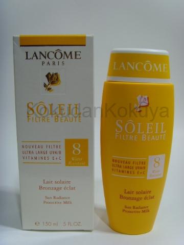 LANCOME Soleil (Filtre Beaute) Güneş Ürünleri Unisex 150ml Güneş Kremi spf 8