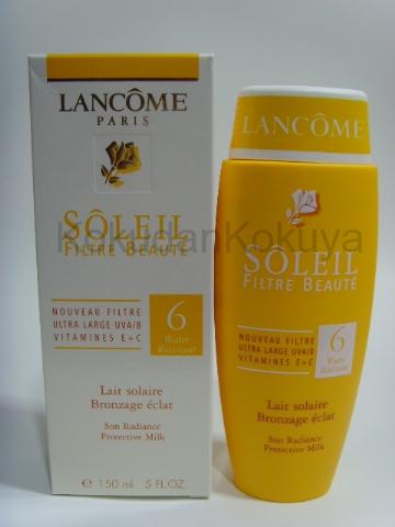 LANCOME Soleil (Filtre Beaute) Güneş Ürünleri Unisex 150ml Güneş Kremi spf 6