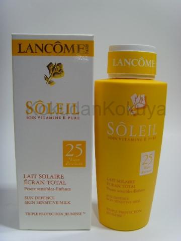 LANCOME Soleil (Triple Protective Jeunesse) Güneş Ürünleri Unisex 150ml Güneş Kremi spf 25