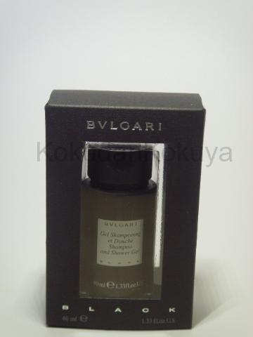 BVLGARI Black (Vintage) Banyo Ürünleri Unisex 40ml Duş Jeli