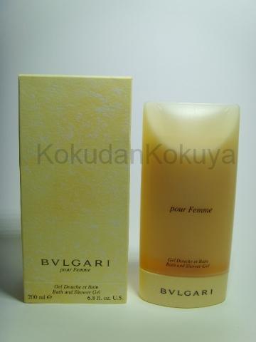 BVLGARI Pour Femme (Vintage) Banyo Ürünleri Kadın 200ml Duş Jeli
