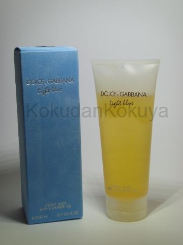 DOLCE GABBANA Light Blue pour Femme Banyo Ürünleri Kadın 200ml Duş Jeli