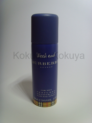 BURBERRY Weekend for Men (Vintage) Deodorant Erkek 150ml Deodorant Spray (Metal)