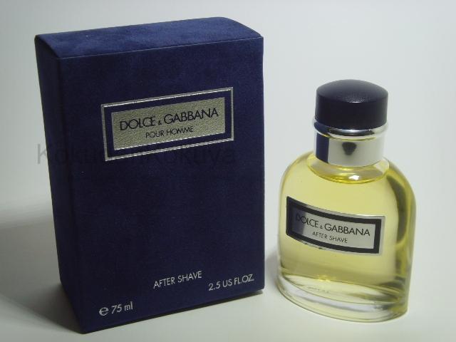 DOLCE GABBANA Pour Homme (Vintage) Erkek Cilt Bakım Ürünleri Erkek 75ml Traş Losyonu Dökme