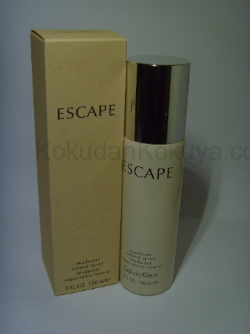 CALVIN KLEIN Escape (Vintage) Deodorant Kadın 150ml Deodorant Spray (Metal)
