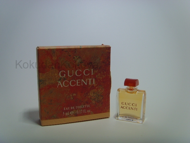 GUCCI Accenti (Vintage) Parfüm Kadın 5ml Minyatür (Mini Perfume) Dökme
