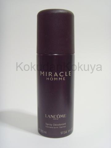 LANCOME Miracle Homme (Vintage) Deodorant Erkek 150ml Deodorant Spray (Metal)