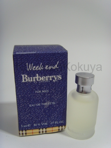BURBERRY Weekend for Men (Vintage) Parfüm Erkek 5ml Minyatür (Mini Perfume) Dökme