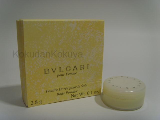 BVLGARI Pour Femme (Vintage) Vücut Bakım Ürünleri Kadın 3ml Vücut Pudrası