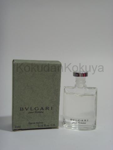 BVLGARI Pour Homme (Vintage) Parfüm Erkek 4ml Minyatür (Mini Perfume) Dökme