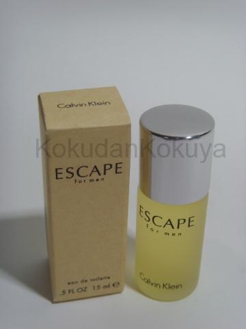 CALVIN KLEIN Escape for Men (Vintage) Parfüm Erkek 15ml Eau De Toilette (EDT) Dökme