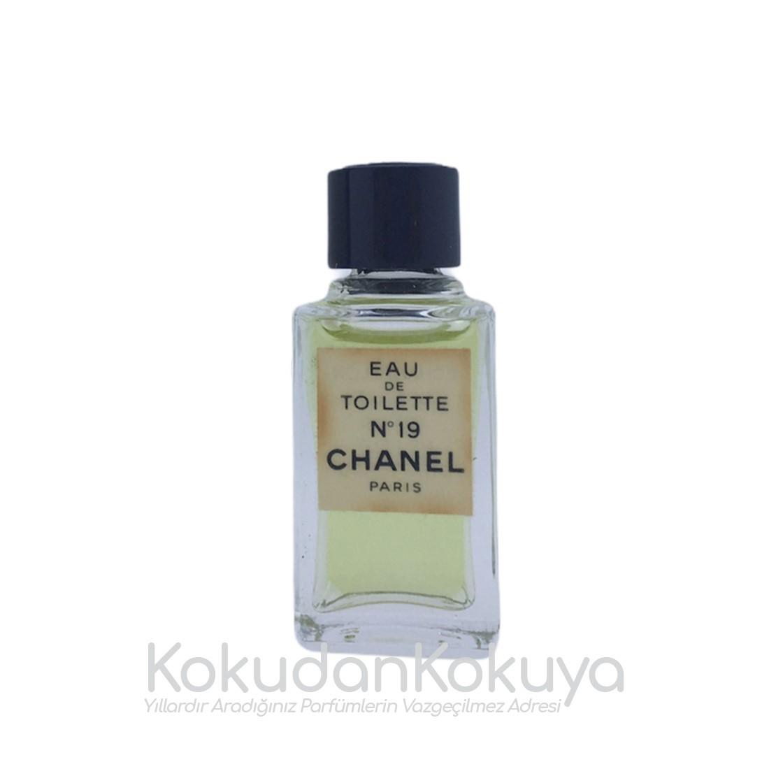 CHANEL No. 19 (Vintage) Parfüm Kadın 4.5ml Minyatür (Mini Perfume) Dökme