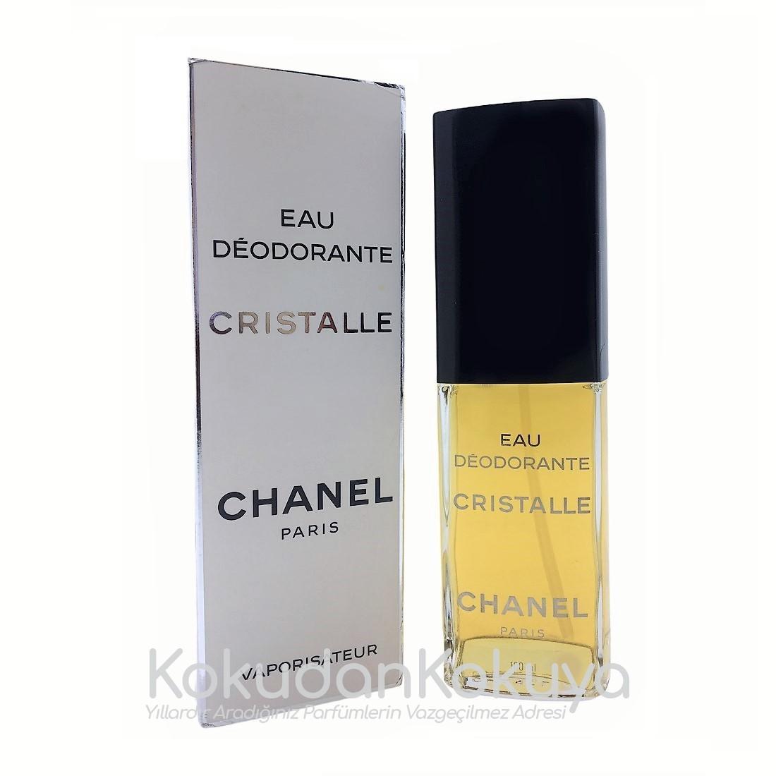 CHANEL Cristalle (Vintage) Deodorant Kadın 100ml Deodorant Spray (Cam) Sprey