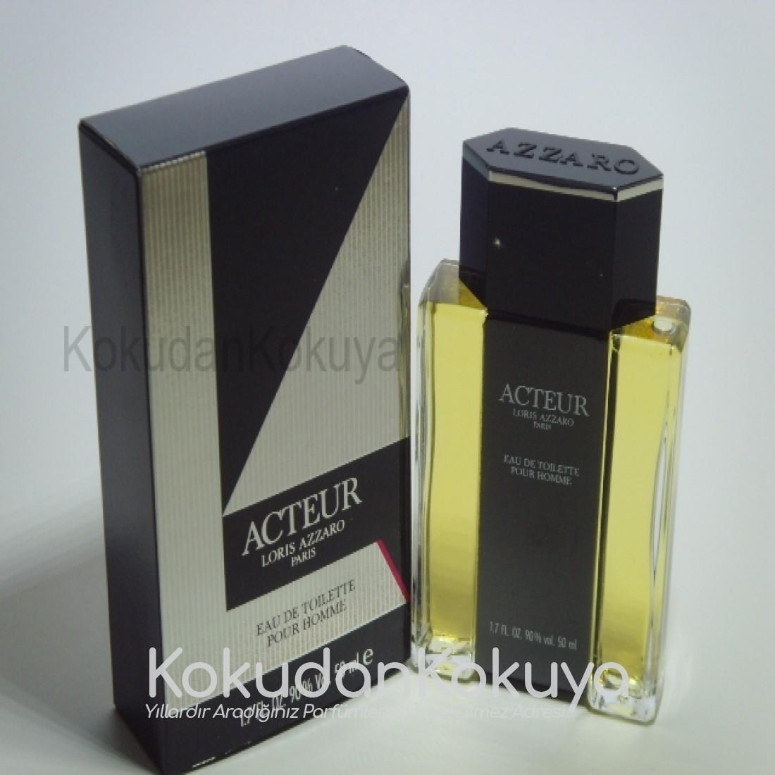 AZZARO Acteur (Vintage) Parfüm Erkek 100ml Eau De Toilette (EDT) Sprey