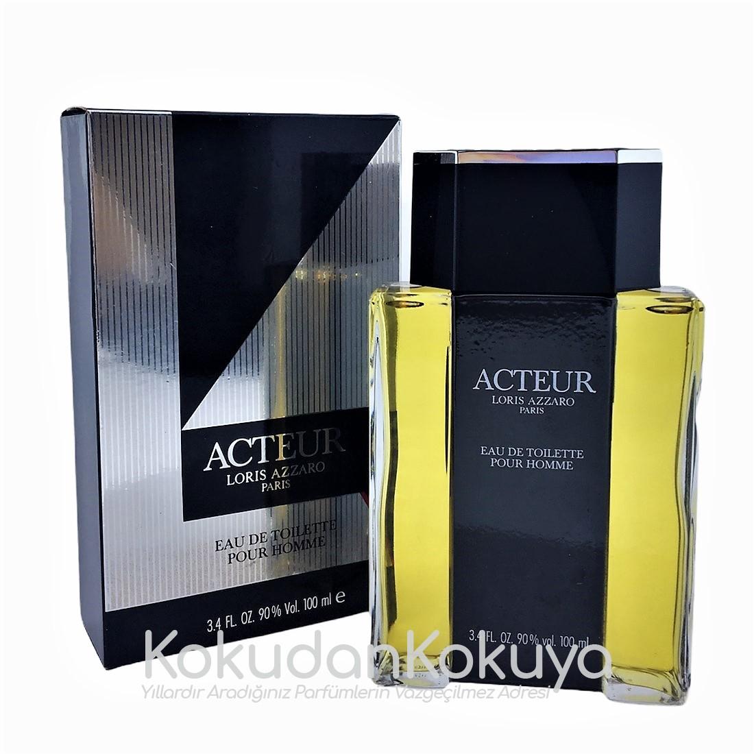 AZZARO Acteur (Vintage) Parfüm Erkek 100ml Eau De Toilette (EDT) Dökme