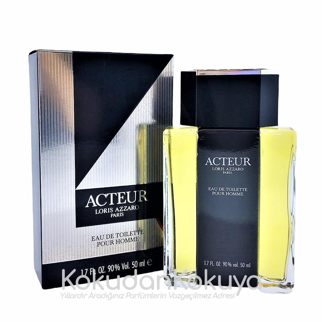 AZZARO Acteur (Vintage) Parfüm Erkek 50ml Eau De Toilette (EDT) Dökme
