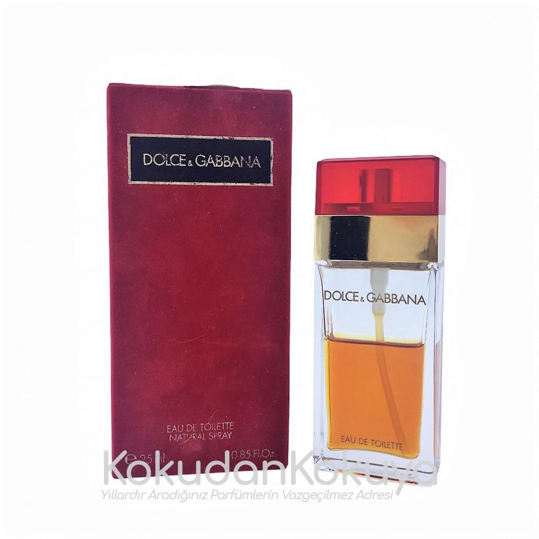 DOLCE GABBANA Pour Femme (Vintage) Parfüm Kadın 25ml Eau De Toilette (EDT) Sprey