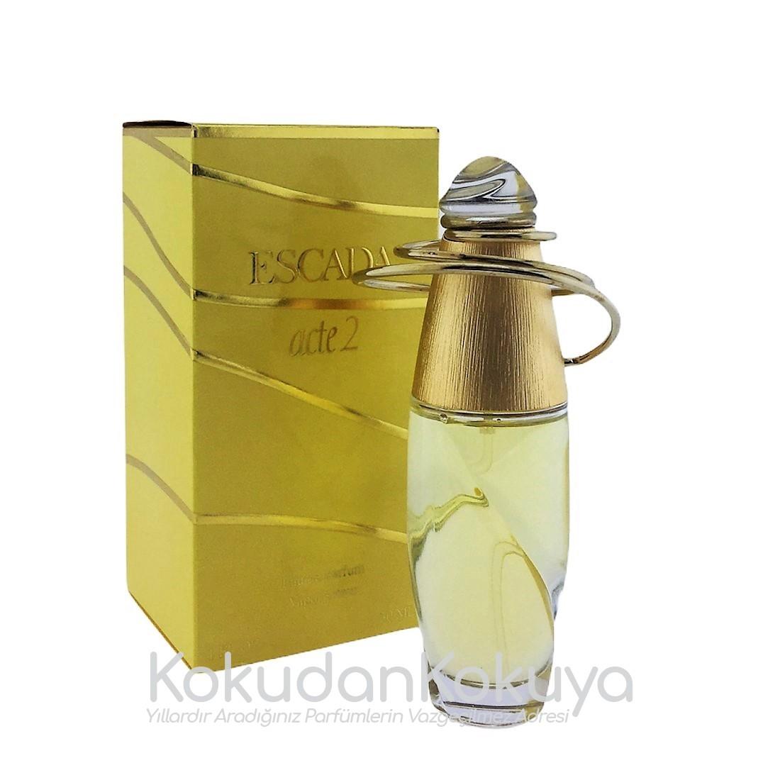 ESCADA Acte 2 (Vintage) Parfüm Kadın 30ml Eau De Parfum (EDP) Sprey