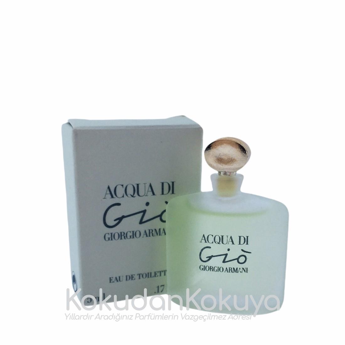 GIORGIO ARMANI Acqua Di Gio pour Femme (Vintage) Parfüm Kadın 5ml Eau De Toilette (EDT) Dökme