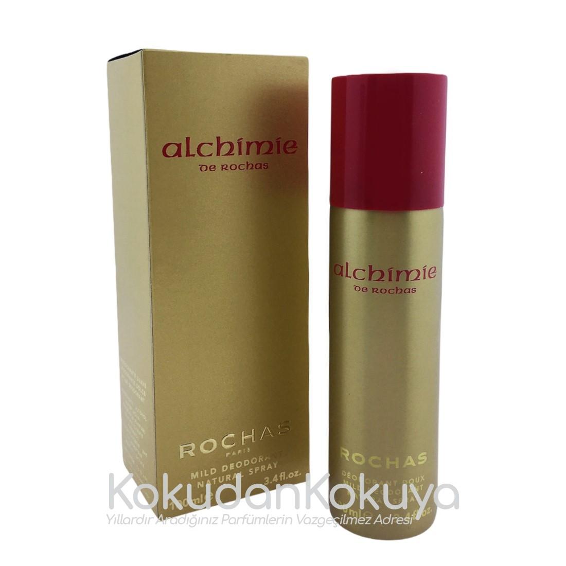 ROCHAS Alchimie (Vintage) Deodorant Kadın 100ml Deodorant Spray (Metal)